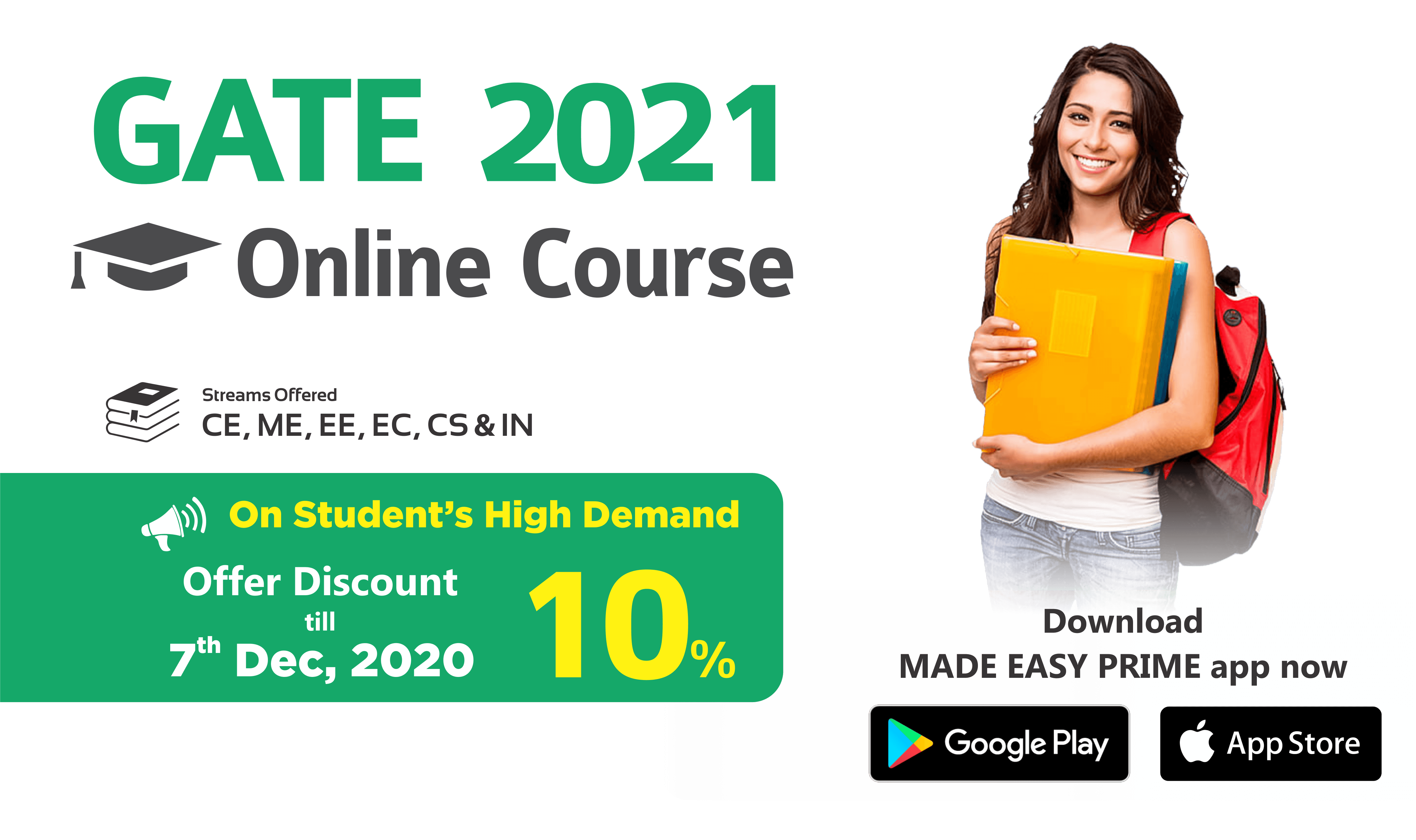 GATE 2021 Online Course